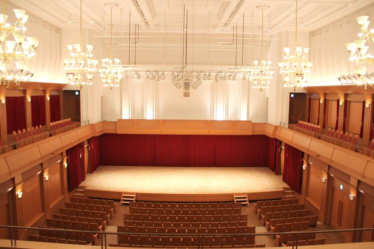 文化ホール客席