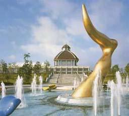 歴史と文化の森公園 炎の博記念堂